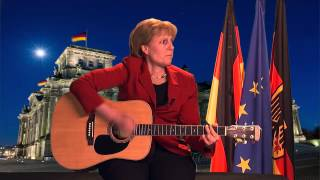 ZDF Fernsehgarten - Angela Merkel: ''You're My Heart, You're My Soul''