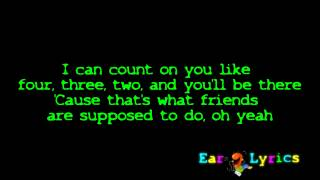Bruno Mars   Count On Me Official Lyrics Video   HQ HD