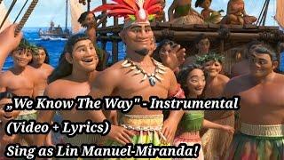 Moana - We Know The Way (Instrumental)