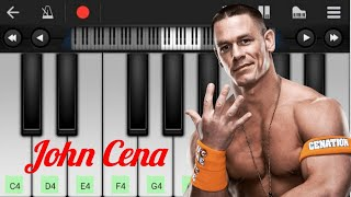JOHN CENA THEME | TITLE SONG | PIANO COVER | MOBILE APK