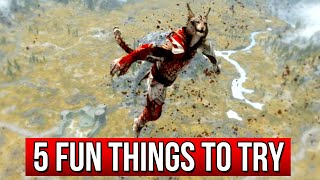 Skyrim 5 Funny Things You Never Tried in Skyrim!