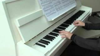 Twin Peaks Theme - Falling - by Angelo Badalamenti (piano)