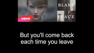 Blank Space By -Our Last Night- lyrics