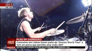 Muse @ Sic Noticias, Portugal (MEO Arena)