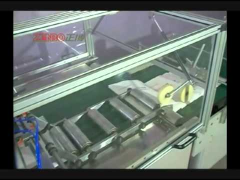Kese Kağıdı Dip Yapıştırma Makinesi