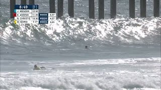 Andino Steals Round One Victory With Big Air