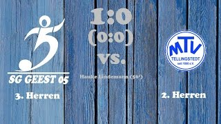 Highlights SG Geest 05 III vs. MTV Tellingstedt II - 23.04.2017