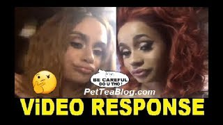 Kehlani Subs Cardi B says Be Careful was hers? Fake BEEF Starts here ☕