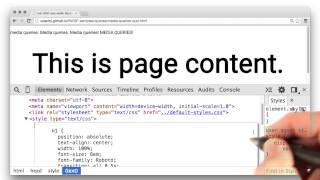 Fun with Media Queries Quiz - Responsive Web Design Fundamentals