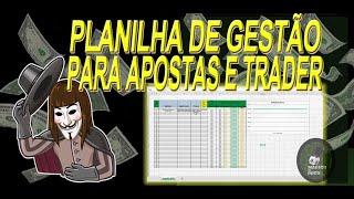 Planilha Gestão de Banca GRATUITA Para Apostas e Trading Esportivo BET365