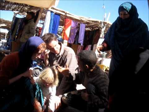 Tim, Sophie and Oona visit Zagora market (Part 02)