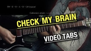 Alice in Chains - Check My Brain | Vocal and Guitar Cover | Tabs