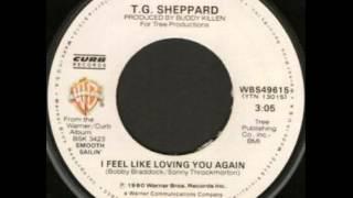 T.G. Sheppard ~ I Feel Like Loving You Again