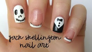 Jack Skellington Nail Art for Halloween| DIYDazzleNails