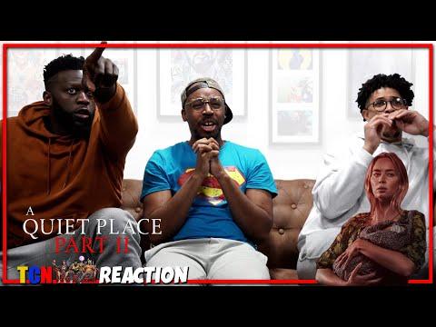 A Quiet Place Part II Final Trailer Reaction
