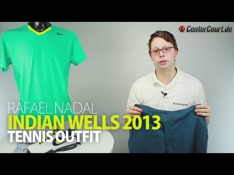 hot sale online 60562 a5fb6 Rafael Nadal Indian Wells Tennis Outfit 2013