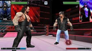 Phenom The Undertaker vs American Badass The Undertaker | WWE Mayhem | AM Might