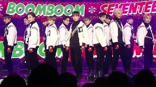 《POWERFUL》 SEVENTEEN (세븐틴) - BOOMBOOM (붐붐) @인기가요 Inkigayo 20161218