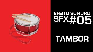Barulho de Tambor - Efeito Sonoro - SFX #05