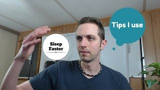 How to get to sleep faster and eliminate racing thoughts at night. Get better sleep - calm your mind
