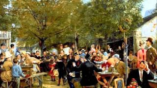 В кафе, наповненім юрбою  Б.Весоловський  Ukrainian Waltz