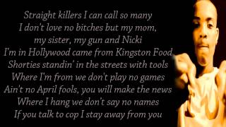 Nicki Minaj ft Lil Herb ChiRaq Lyrics on screen Full