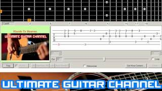 [Guitar Solo Tab] Hands To Heaven (Breathe)