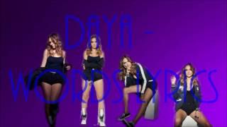 Daya-Words Lyrics