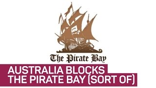 Silly Australia, you can't block The Pirate Bay (CNET News)