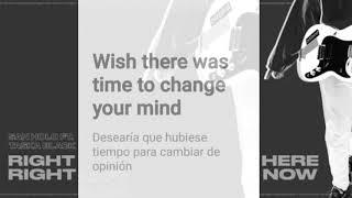 Right Here, Right Now●(Sub. Español e Ingles)●[San Holo feat. Taska Black]