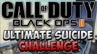 ULTIMATE SUICIDE CHALLENGE! | Black Ops 2