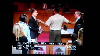 Judge Judy 0212 plaintiff almost punches defendant
