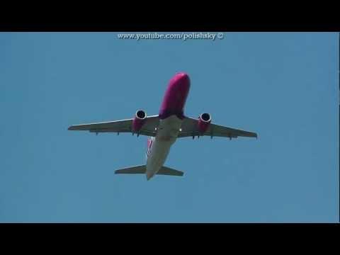 Wizz Air Ukraine Airbus A320-232 Reg: UR-WUA at Katowice Pyrzowice EPKT KTW 19.05.2012