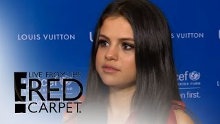 Selena Gomez Shuts Down Charlie Puth Dating Rumors | Live from the Red Carpet | E! News