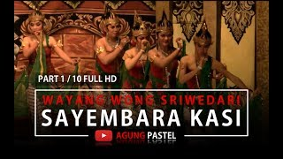 Sayembara kerajaan kasi - Audition in the kingdom of Kashi part 1/10 traditional javanese opera
