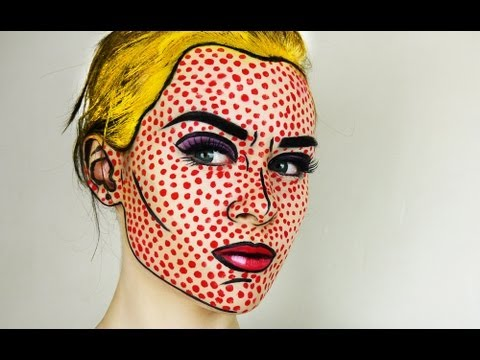 Pop Art / Comic Book Makeup Tutorial