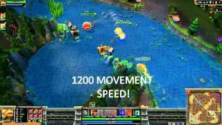 Rammus 1200 movement speed