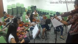 Tango: Por Una Cabeza- Senior Violin Ensemble