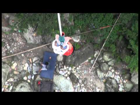 Crazy Bungy Jump at The Last Resort Nepal