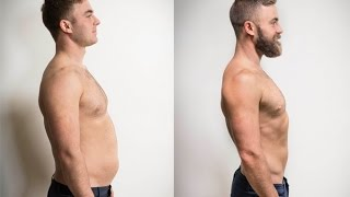 FITNESS TIME-LAPSE: 145 Days In 48 Seconds, Weight Loss, Muscle Gain, Six Pack Abs, Beard #IWantAbs