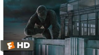 King Kong (8/10) Movie CLIP - Climbing the Empire State Building (2005) HD
