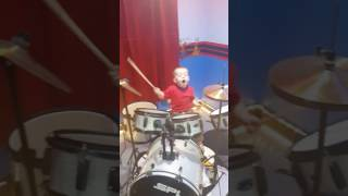 Newsboy We believe cover by a two-year old