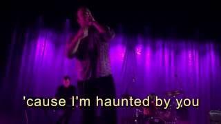 "Future Islands ""Haunted By You""  LYRICS on screen"