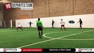 Superman vs. New Castle Champions de los Martes Liga San Francisco