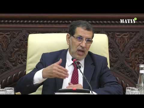 Video : Allocution de Saad Eddine El Othmani au Conseil du gouvernement du 31 janvier 2019