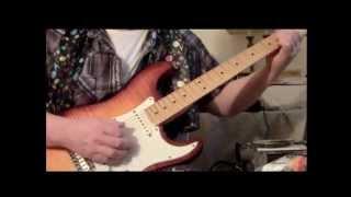 Guitar Jam Using An Electro Harmonix B9. A Few Different Sounds