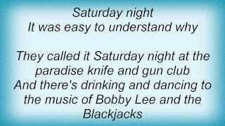Lonestar - Paradise Knife And Gun Club Lyrics