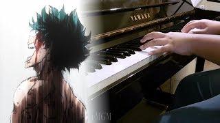 """Boku no Hero Academia S3 Ep. 4 OST - """"My Hero"""" / 1.000.000% SMASH Theme (Piano)"""
