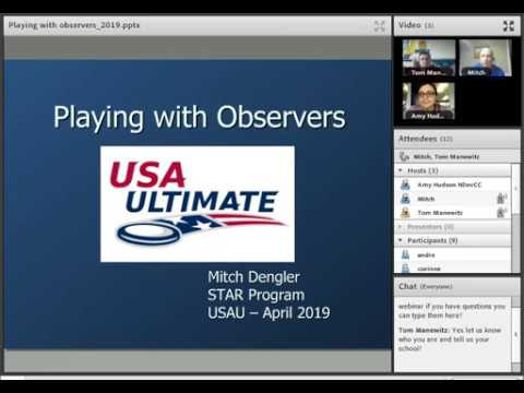 Video Thumbnail: STAR Webinar: Playing with Observers (2019)