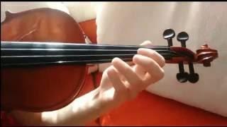 Lindsey Stirling- THE ARENA Violin TUTORİAL